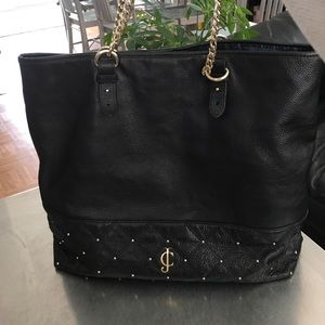 Juicy Couture/ Large/ Leather/ Tote/ Shoulder/ Bag