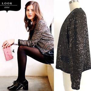 Juicy Couture sequin jacket size XL