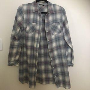Tops - Long Flannel