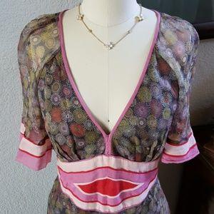 Catherine Malandrino garden party dress