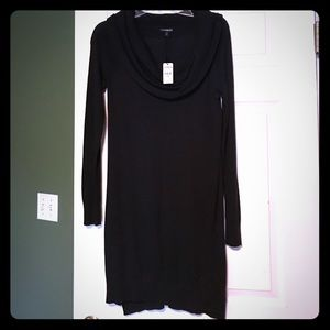 New Express black sweater dress