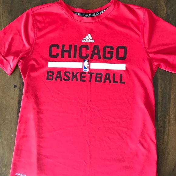 473830e84814 adidas Other - Boys Adidas Chicago Bulls basketball tshirt