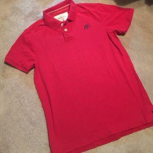 Aeropostale Red Polo Shirt