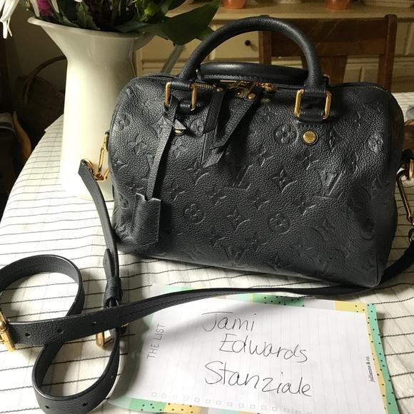 eac38c5a862d8 Louis Vuitton Handbags - Louis Vuitton Speedy 25 Infini Empreinte Leather