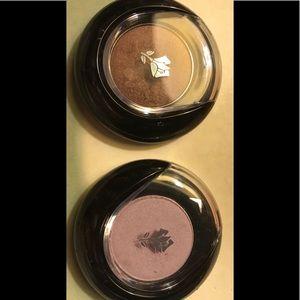 Lancôme eye shadow testers