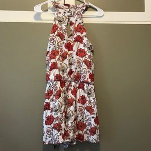 Anthropologie inspired floral romper NWT