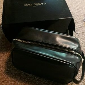 Dolce & gabbana beauty cosmetic makeup bag travel