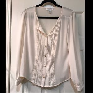 F21 Blush colored blouse
