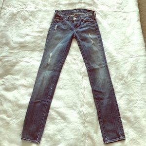 7 For All Mankind Roxanne Jeans Size 24