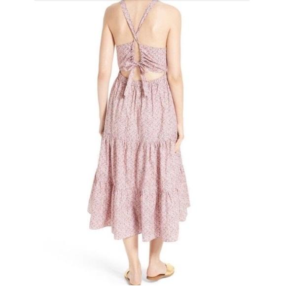 Rebecca Taylor Dresses | La Vie Meadow Floral Dress Rose Claire ...