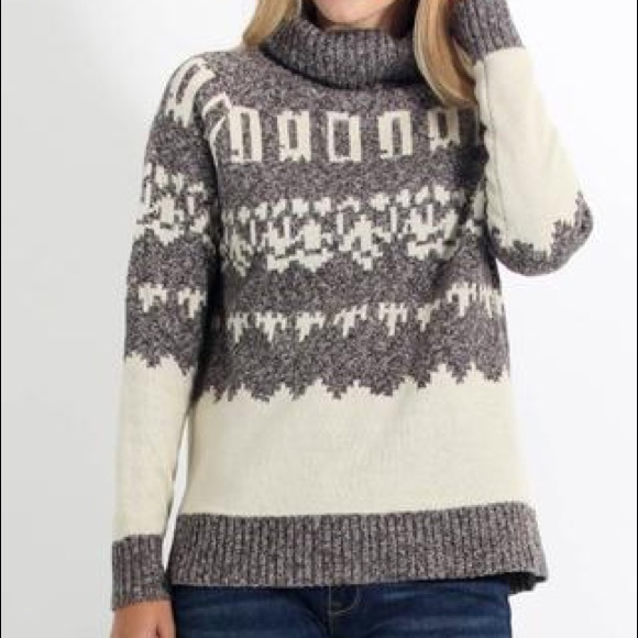 53% off Cozy Casual Sweaters - NWT Heavy Knit Ski Resort ...