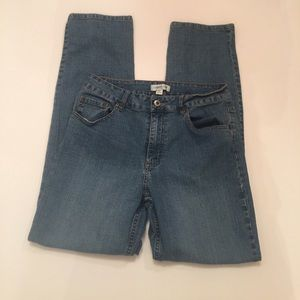 Coldwater Creek Straight Leg Jeans Size 12