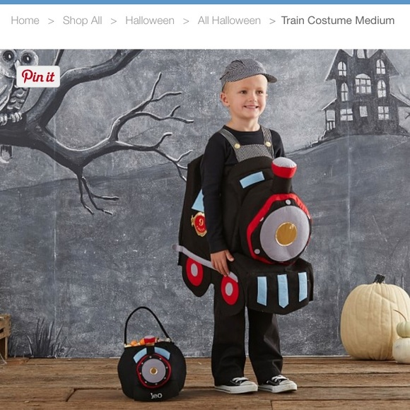 Costumes Pottery Barn Kids Train Costume Poshmark