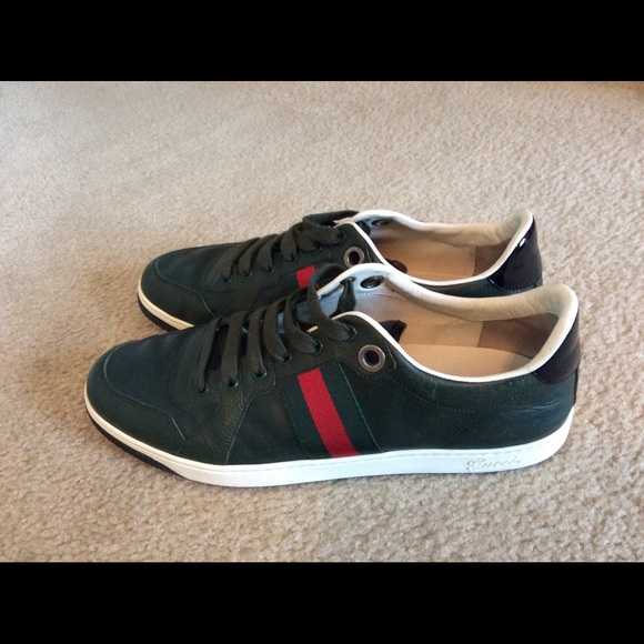 878685d3eb1 Gucci Other - Authentic Gucci Men s Low Top Sneakers 283115