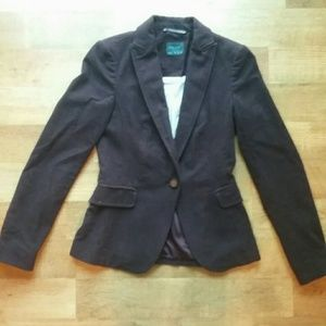 Zara Basic deep Plum blazer