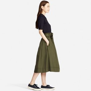 1103925aba Uniqlo Skirts - 🎉Host Pick🎉 Uniqlo | Olive High Waist Skirt