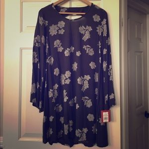 NWT Mossimo Supply Co Floral Dress Small