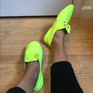 Neon Anniel Leather flats