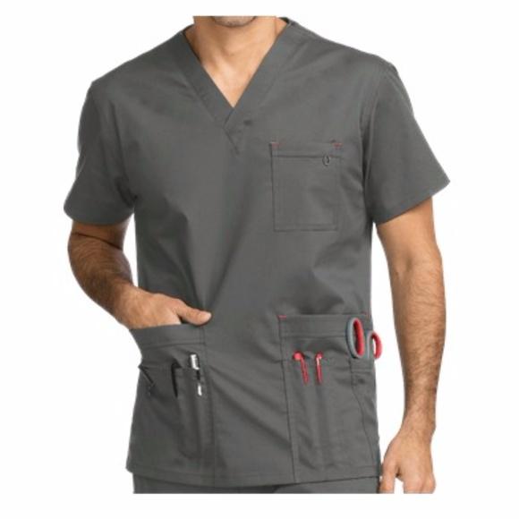b0015176896 Med Couture Shirts | Mens Tactical Vneck Multi Pocket | Poshmark