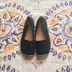 Espadrille Style Loafers
