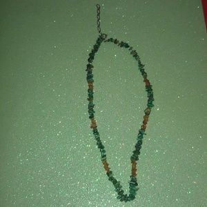 turquoise carnealian healing stone 925 necklace