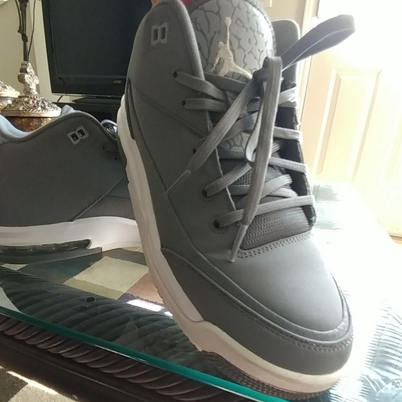 Jordan Other - FINAL SALE -Gray Jordan high top basketball shoes