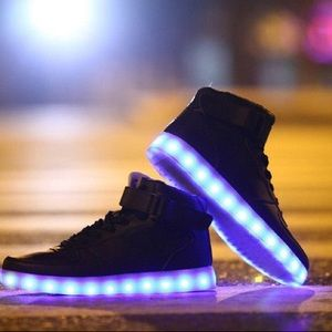Led high top men sizes boots
