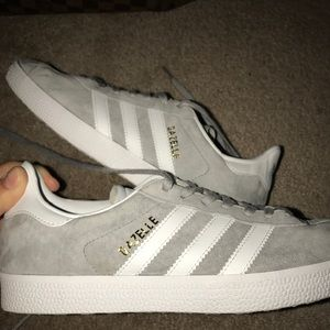 Adidas gazelle suede shoes