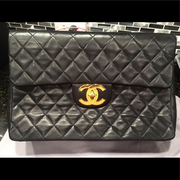 ffb53e7775eb CHANEL Bags | Vintage Maxi Jumbo Xl Classic Quilted Purse | Poshmark