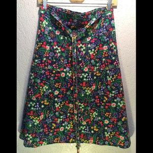 Margaret Smith vintage midi wrap skirt
