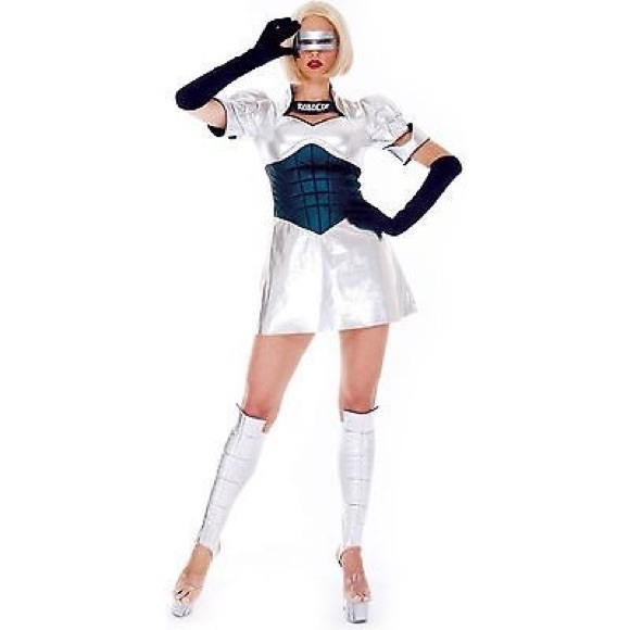 Pmg Other New Womens Robocop Role Play Halloween Costume L Poshmark