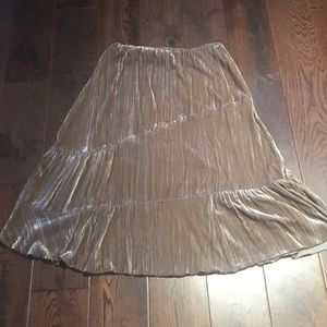 NWOT Velvet skirt