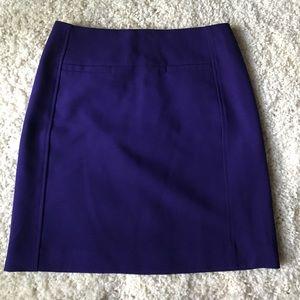 LOFT deep purple pencile skirt.