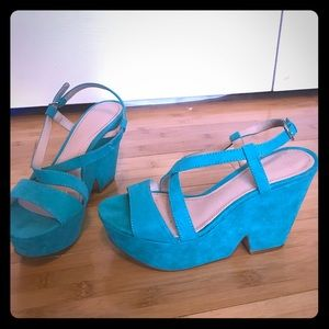 Zara wedge size 37