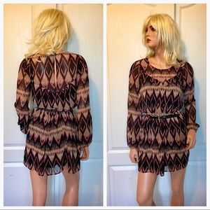 EXPRESS Boho Shift Dress