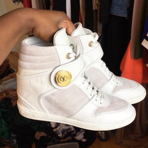 b1c91dd48ed1 Louis Vuitton Shoes - Women s Louis Vuitton Sneaker Wedges