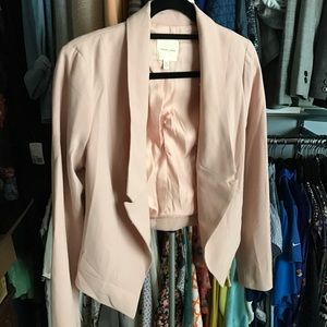 Silence and Noise Blush Blazer Separate