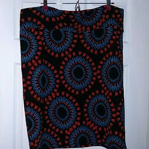 EUC LuLaRoe Cassie Skirt