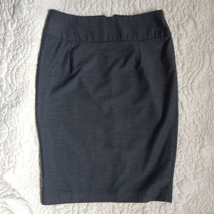 Dark Blue Mossimo Size 4 Pencil skirt
