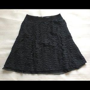 Club Monaco Ruffled Skirt