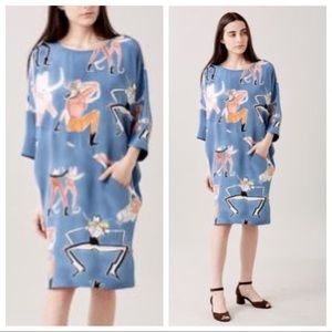 Rachel Comey Silk Caftan Style Dress!