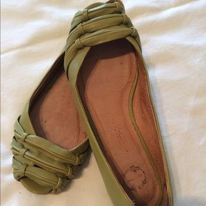 Anthropology Lucky Penny Flats