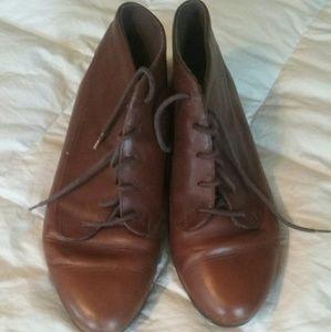 Vintage Leather Oxfords