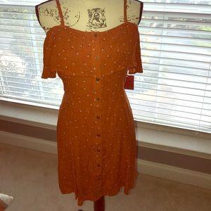NWT Mossimo dress! Beautiful for fall!