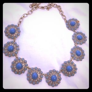 J. Crew 'Blue Flower' Necklace