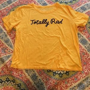 """American Eagle """"Totally Rad"""" Graphic Tee"""