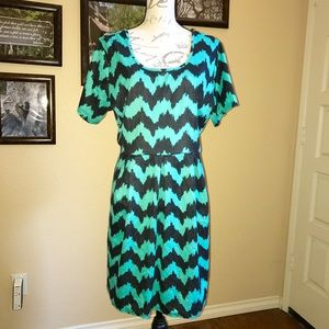FTF Fit and Flare Dress