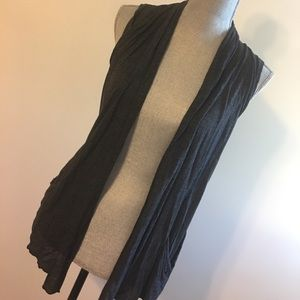 Light Gray Vest Cover-Up - Perfect for all seasons
