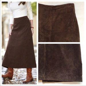 MARGARETH GODFREY - Brown sues maxi skirt