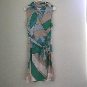New York &a Company Geometric Dress